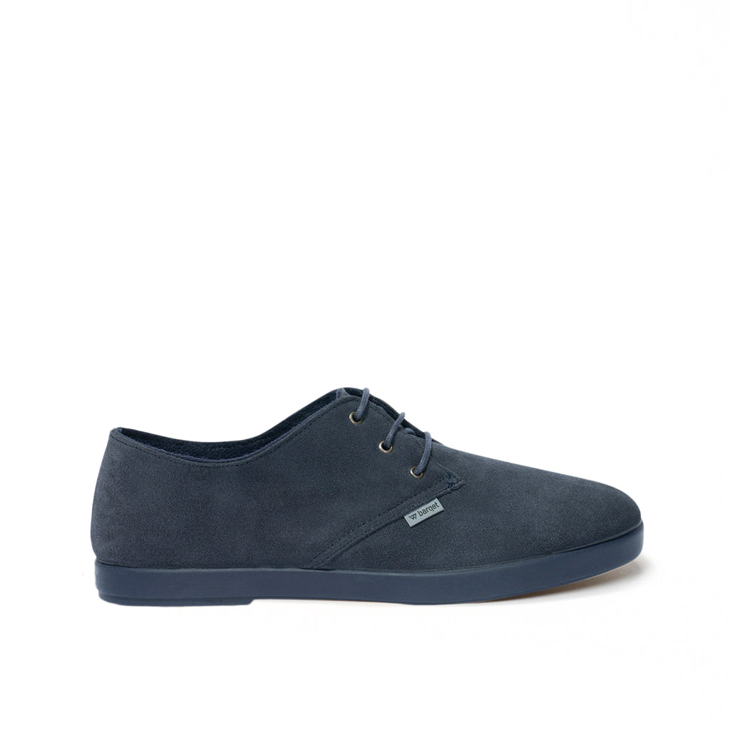 barqet dogma low basic navy suede