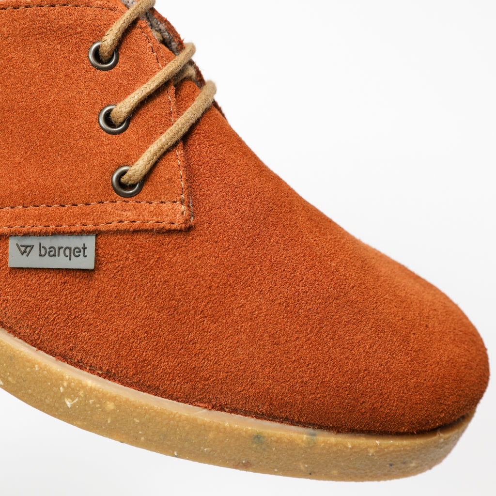 barqet dogma low brandy suede