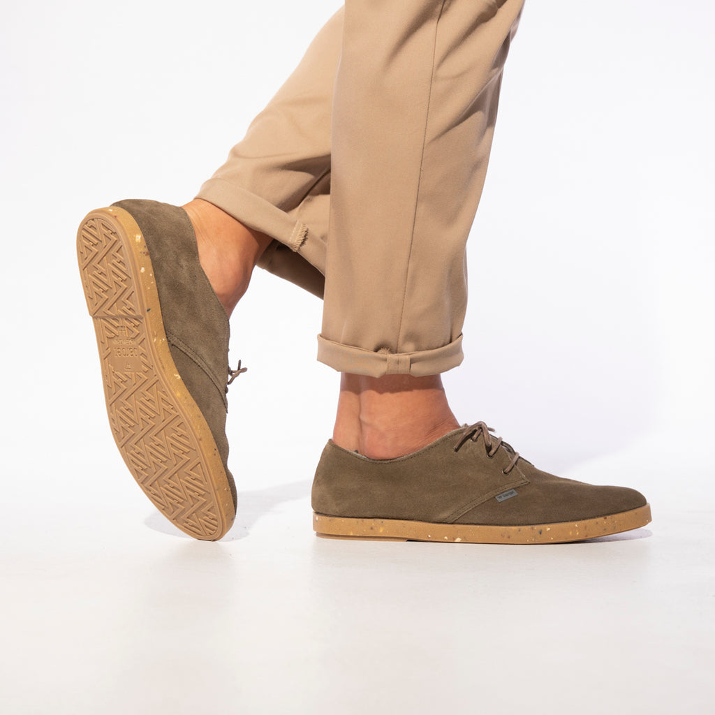 barqet dogma low military suede