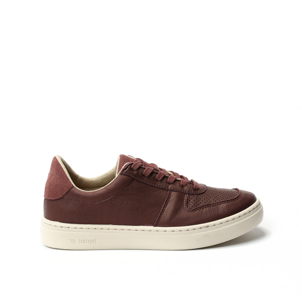 barqet norma burgundy leather