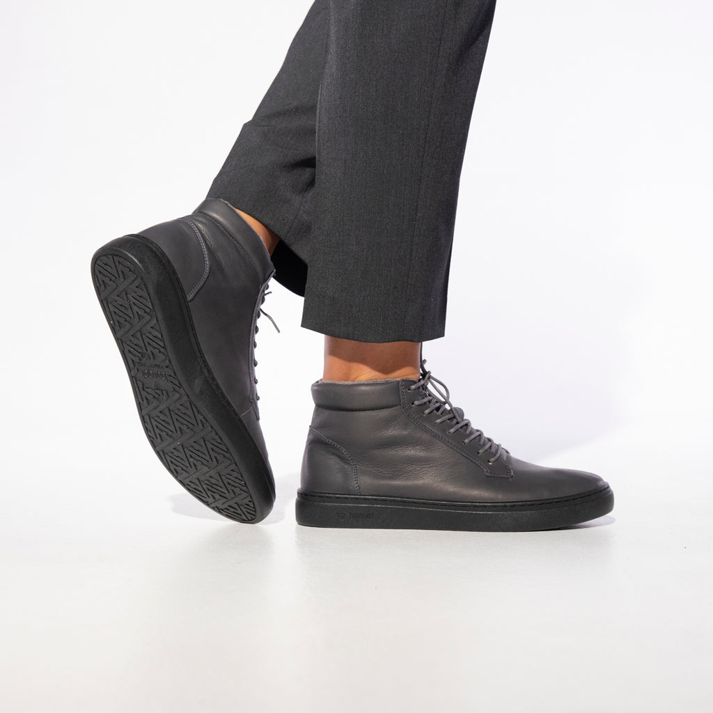 barqet paradigma high grey leather
