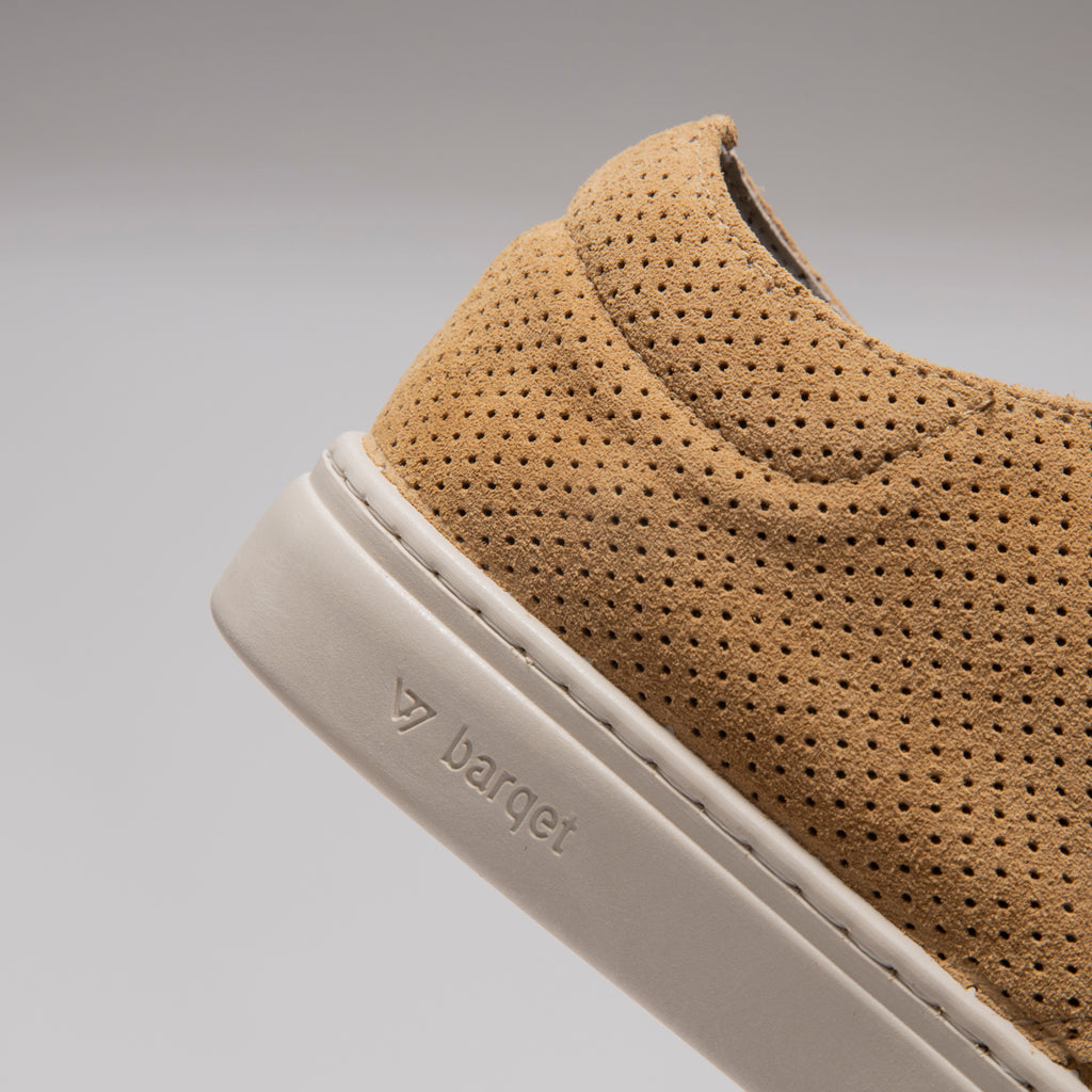 Barqet Paradigma Perforated Beige Suede