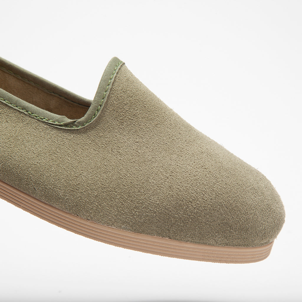 Barqet Sigma Olive Suede