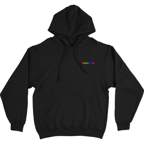 COLOUR VISION EMBROIDERED HOODIE