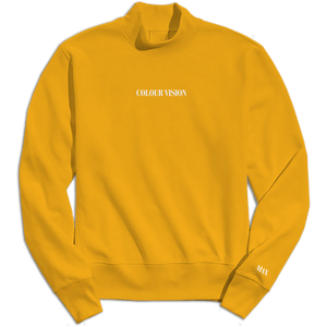 COLOUR VISION MOCK NECK SWEATSHIRT (LIMITED EDITION)