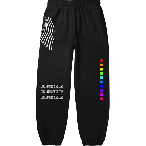 LIMITED EDITION COLOUR VISION SWEATPANTS