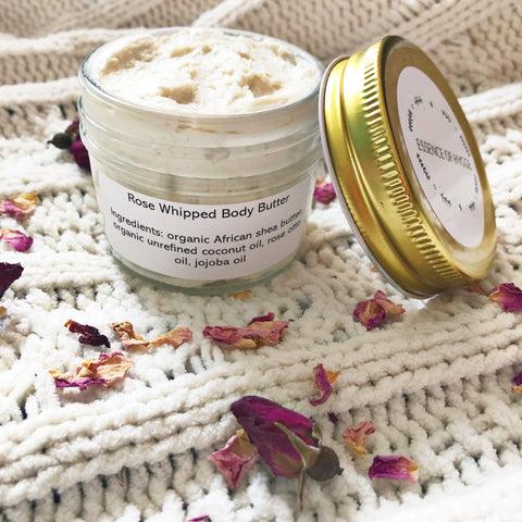 Rose Whipped Body Butter