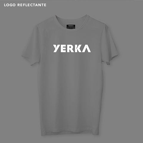 Polera Stay Safe White - Yerka Bikes Chile