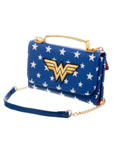 Load image into Gallery viewer, Wonder Woman Logo Cross Body Bag - Merch Rox