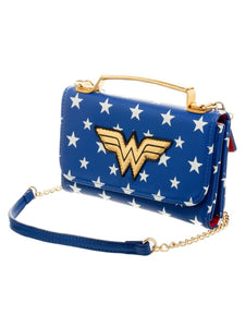 Wonder Woman Logo Cross Body Bag - Merch Rox