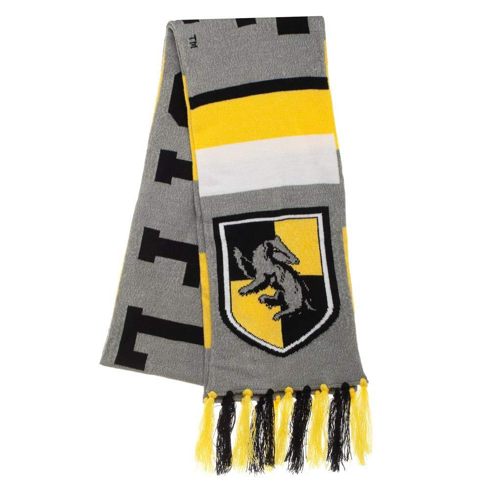 Harry Potter Hufflepuff Scarf With Tassels - Merch Rox