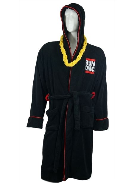 Run DMC Luxury Fleece Bathrobe - Merch Rox