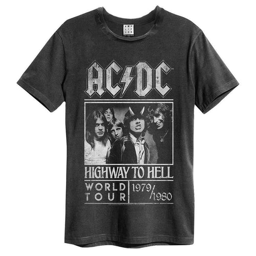 Amplified ACDC Highway To Hell Poster T-Shirt - Merch Rox