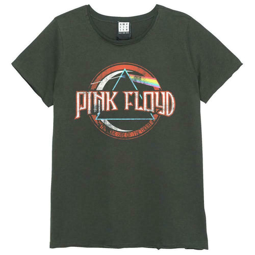 Amplified Pink Floyd On The Run Womens T-Shirt - Merch Rocks