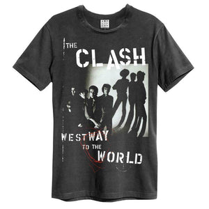 Amplified The Clash West Way To The World T-Shirt - Merch Rox