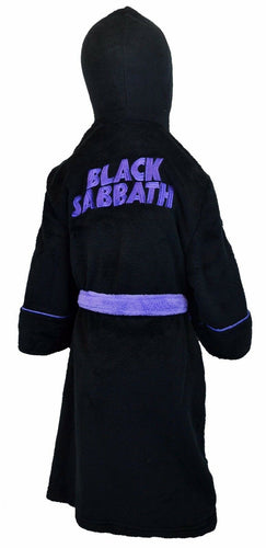 Black Sabbath Master Of Reality Kids Bathrobe - Merch Rocks