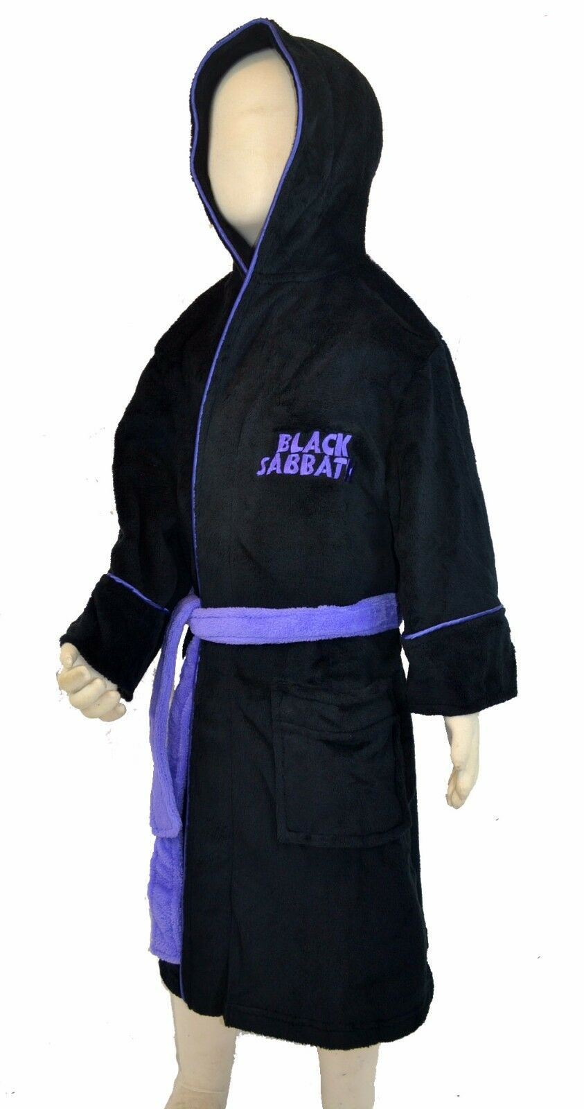 Black Sabbath Master Of Reality Kids Bathrobe - Merch Rox