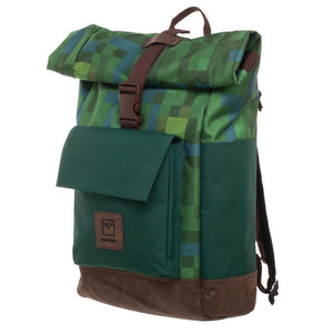 Minecraft Premium Explorer Rolltop Backpack