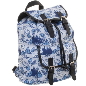 Harry Potter Icon Print Backpack - Merch Rocks