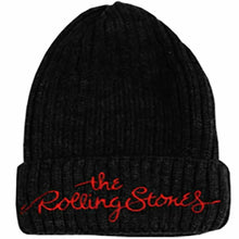 Load image into Gallery viewer, The Rolling Stones Logo Beanie Hat - Merch Rox