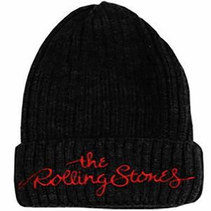 The Rolling Stones Logo Beanie Hat - Merch Rox