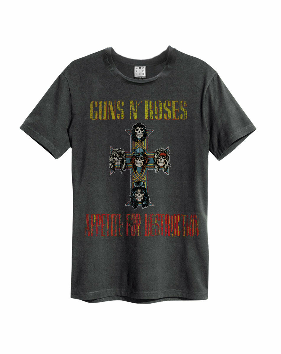 Amplified Guns N Roses Appetite for Destruction T-shirt - Merch Rox