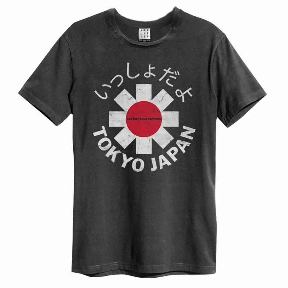 Amplified Red Hot Chili Peppers Tokyo T-Shirt - Merch Rox