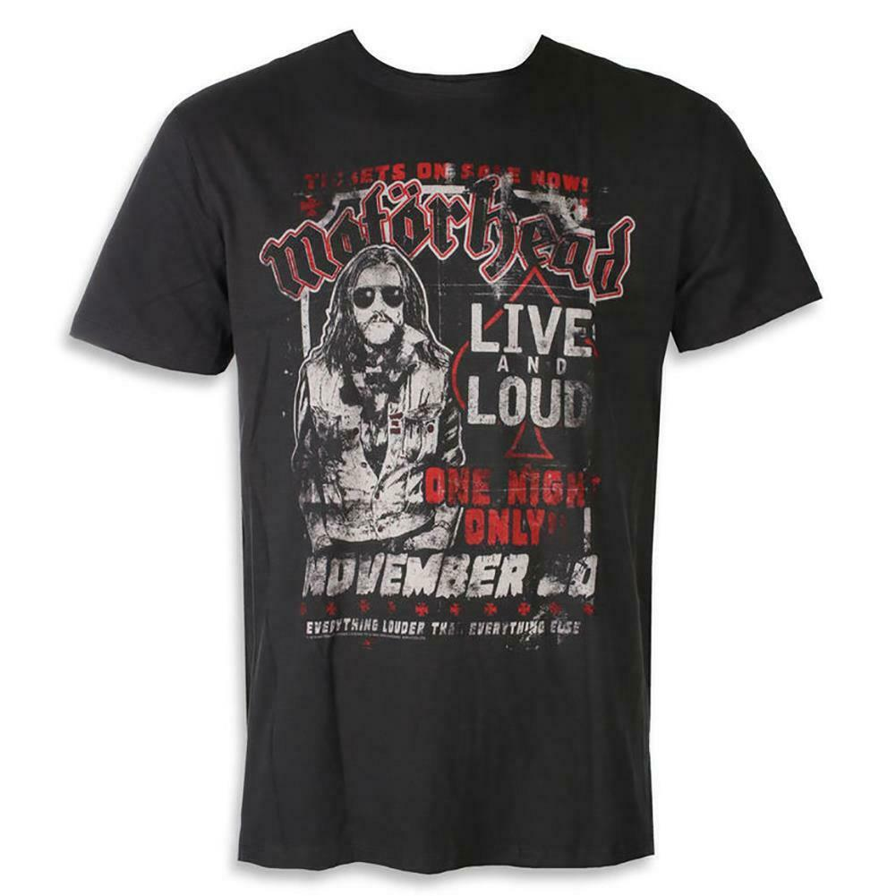 Amplified Motorhead One Night Only T-Shirt - Merch Rox
