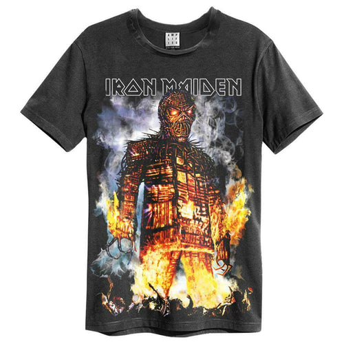 Amplified Iron Maiden The Wickerman T-Shirt - Merch Rox