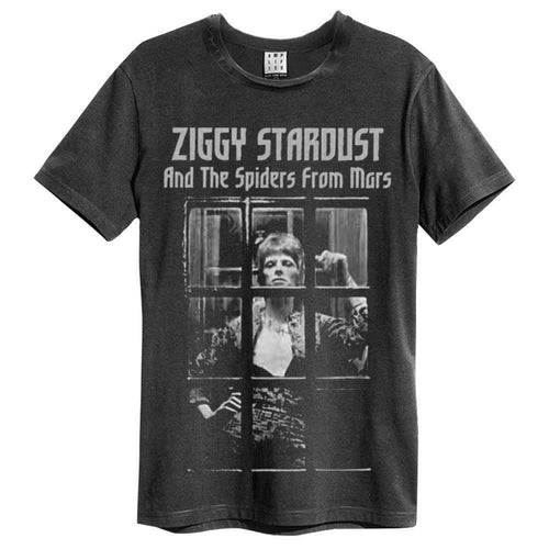 Amplified David Bowie Ziggy Stardust Spiders From Mars T-Shirt - Merch Rox