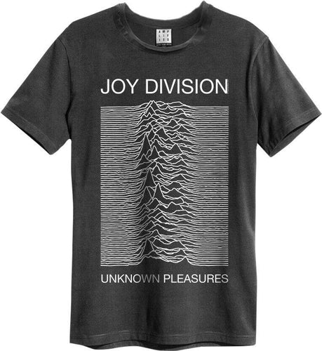Amplified Joy Division Unknown Pleasures T-shirt - Merch Rocks