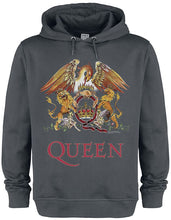 Load image into Gallery viewer, Amplified Queen Royal Crest Hoodie - Merch Rox