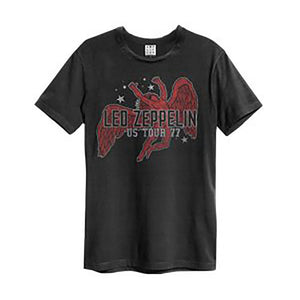Led Zeppelin US Tour 77 Icarus Amplified Unisex T-Shirt - Merch Rox