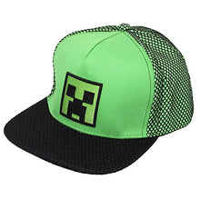 Load image into Gallery viewer, Minecraft High Build Embroidery Snapback Baseball Cap