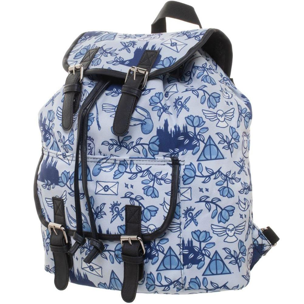 Harry Potter Icon Print Backpack - Merch Rox