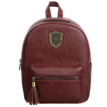 Load image into Gallery viewer, Harry Potter Gryffindor PU Mini Backpack
