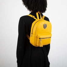 Load image into Gallery viewer, Harry Potter Hufflepuff PU Mini Backpack