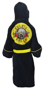 Guns and Roses Kids Dressing Gown / Bathrobe - Merch Rocks