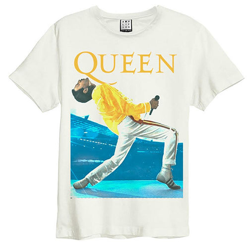 Amplified Queen Freddie Mercury Triangle T-Shirt - Merch Rox
