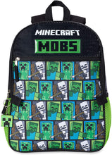 Load image into Gallery viewer, Minecraft MOBS 5 piece Backpack
