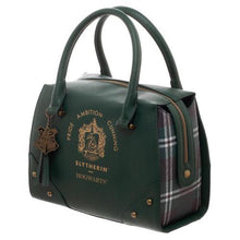 Load image into Gallery viewer, Harry Potter Slytherin Luxury Plaid Top Handbag - Merch Rocks