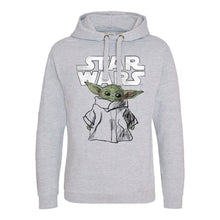Load image into Gallery viewer, Star Wars The Mandalorian The Child Sketch Pullover Hoodie