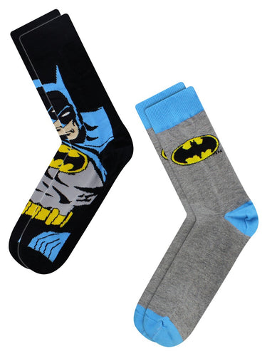 Batman Logo Cape Socks - Merch Rox