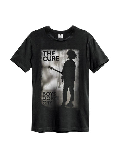 Amplified The Cure Boys Don't Cry Men's T-Shirt - Merch Rox