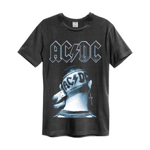 Load image into Gallery viewer, Amplified ACDC Clipped T-shirt - Merch Rocks