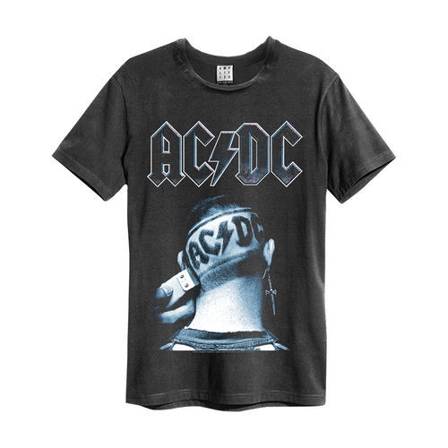 Amplified ACDC Clipped T-shirt - Merch Rox