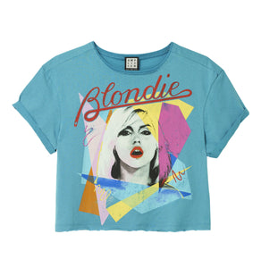 Amplified Blondie Ahoy 80's Women's Crop Top - Merch Rox