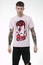 Load image into Gallery viewer, Amplified David Bowie Aladdin Sane Pink T-shirt - Merch Rocks