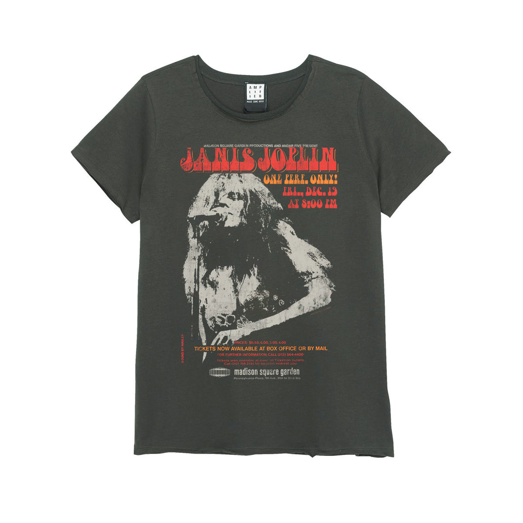 Amplified Janis Joplin Madison Square Gardens Women's T-Shirt - Merch Rocks