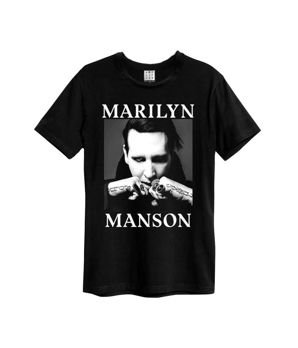 Amplified Marilyn Manson Fists Out T-shirt - Merch Rox